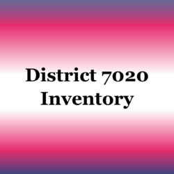 District Inventory
