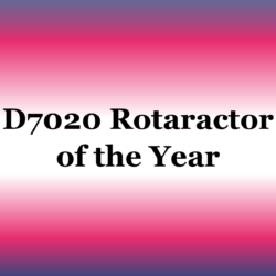 Rotaractor of the year